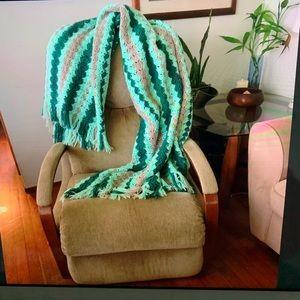 Vintage crochet afghan